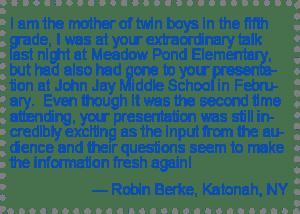 Testimonial Robin Berke