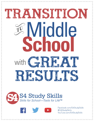 Transition to Middle School Free Ebook
