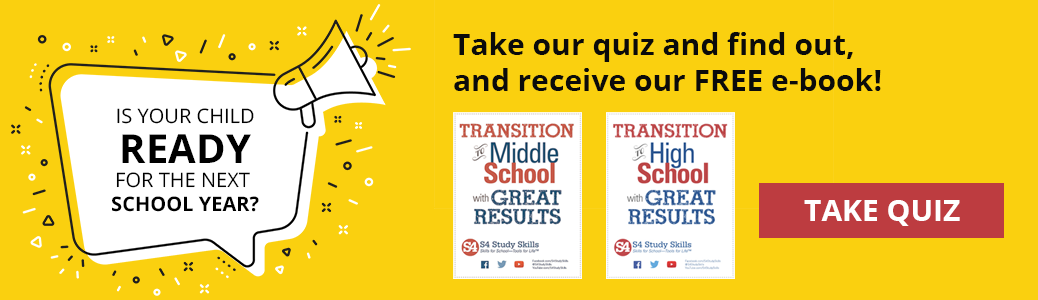 Is your child ready for the next school year? Take our quiz