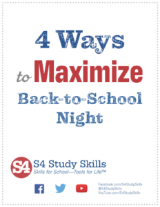 4 Ways to Maximize Back-to-School Night